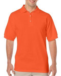 orange polo shirts workwear